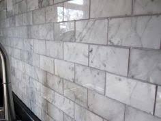 Carrara Subway Tiles Home Depot Square Foot WHAT Who - Carrara tile backsplash