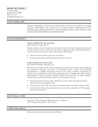 Resume for cell phones sales associate