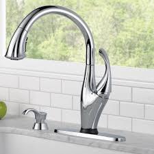 Allora Kitchen Faucet 1 Delta Faucet Delta Essa Arctic Stainless 1handle Deck Mount