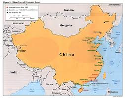 China Topographic Map by Historical Maps Of China