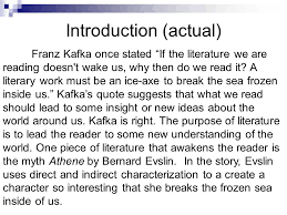 Body Paragraphs Include a topic sentence to introduce the text and author Transition and include your SlidePlayer