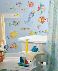 Beach Themed Bathrooms by Bathroom Ideas Nautical Beach Themed Bathroom With Sea Ornaments