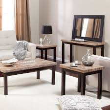 Furniture Setup For Rectangular Living Room Carmine 7 Piece Dining Table Set Hayneedle