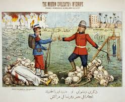 Political cartoon web catch illustrating the imperial brutality of the Entente Cordiale  Eric Ross  academic   WordPress com