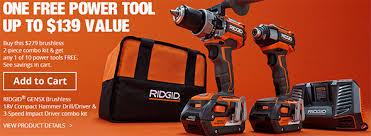 home depot power tool sales black friday home depot holiday 2016 cordless power tool combo kit bonus deals