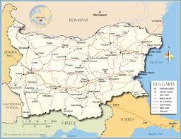 Show Map Of Europe by Political Map Of Bulgaria Nations Online Project