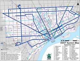 Map Of Detroit Metro Airport by Ddot Departments And Agencies Government City Of Detroit Mi