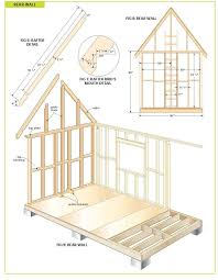 Diy Garden Shed Plans Free by Free Wood Cabin Plans Step By Step Guide To Building A Tiny House