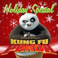 Kung Fu Panda: Bonnes fêtes affiche