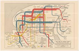 Map New York City by Historical Map New York City Transit System Transit Maps
