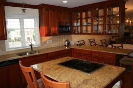 excellent mahogany wood kitchen cabinets combined white window