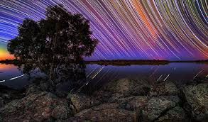 Stunning Star Trails Photographed from the Australian Outback You