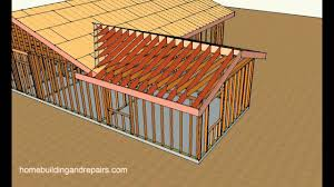 A Frame House Cost How To Attach Home Addition Roof Framing To Existing Sloping Roof