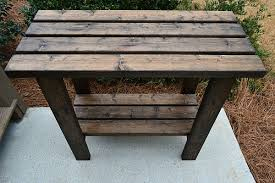 Plans To Build A Picnic Table Bench by Potting Bench Plans Refresh Restyle