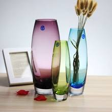 Decorative Glass Vases Compare Prices On Purple Glass Vases Online Shopping Buy Low