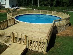 terasse en palette resultado de imagen de above ground pools decks idea homestead