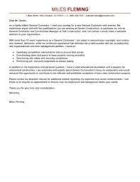 Resume Samples Construction by Federal Contractor Cover Letter
