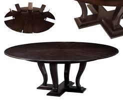 solid oak transitional jupe table for sale ebony finish
