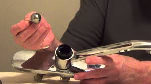 fix leaky faucet ball style single handle youtube