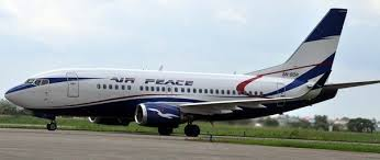 GISTville Air Peace Boeing     aircraft today suffered a burst tyre while preparing for take off at the airport inLagos  The aircraft which had     passengers onboard
