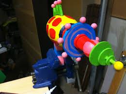 killer klown popcorn ray gun diy my projects pinterest
