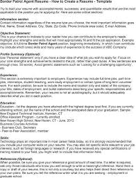 Enrolled Agent Resume Sample by Resume Objective Examples Border Patrol Resume Ixiplay Free