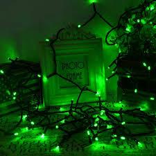 qedertek solar christmas lights 200 led fairy string lights green