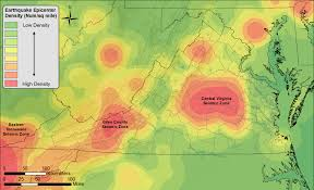 Virginia Tech Map Division Of Geology And Mineral Resources Mapping Seismic