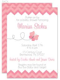 Invitation Cards For Baby Shower Templates Baby Shower Butterfly Invite Butterfly Baby Shower Invitation