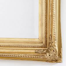finely ornate gold mirror by decorative mirrors online