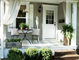 decorate front door for summer side porch ideas for summer