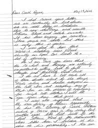 How To Draft A Legal Letter the terrifying prison letters from ex nebraska star lawrence