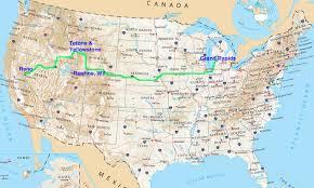 Us Map Michigan by Interstateguide Interstate 80 Interstateguide Interstate 80 Us