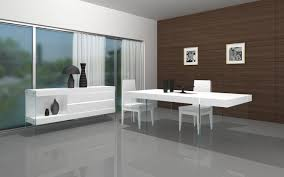 modern glass dining room sets yellow furnitures white vinyl