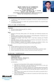 mechanical engineer resume examples sample resume of mechanical engineer free resume example and accounting resumes free sample entry level mechanical engineering resume for ojt students sample