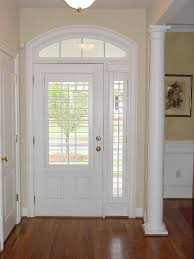 sidelight plantation shutter on sidelights love this look for