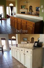 Kitchen Cabinet Refacing Before And After Photos Best 25 Glazed Kitchen Cabinets Ideas On Pinterest How To