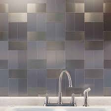 stainless steel mosaic tile subway inspirations including metal