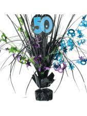 50th birthday centerpieces party ideas pinterest 50th