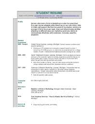 Accounting Resume Examples by Accounting Resume No Experience No Experience Resume Sample