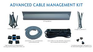 wall mounted cable management system imovr cable management kit review