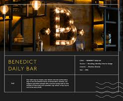 Design A Bar by Benedict Daily Bar On Behance