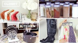 organize with me closet kitchen organization tips and hacks
