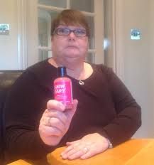 grandparents anger after their eight year old granddaughter s grandmother tracey shiner 54 holds the bottle of lush snow fairy shower gel she