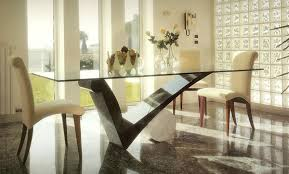 Dining Room Table Ideas by Modern Glass Dining Room Tables Agrandmaslove Pertaining To Modern