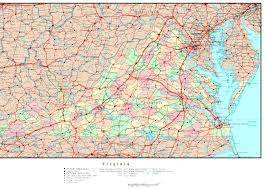 Map Of West Virginia Counties Virginia County Map