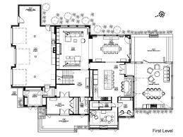 architectural floor plans u2013 modern house