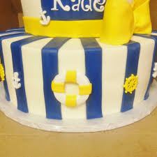 cakes by mindy nautical baby shower cake 8