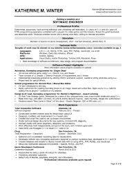 Resume Headline Examples by Resume Headline For Experienced Software Engineer Free Resume