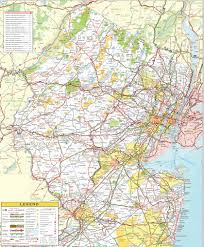 Map Of Virginia Counties And Cities by Map Of Northern New Jersey